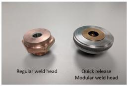Weld head comparison