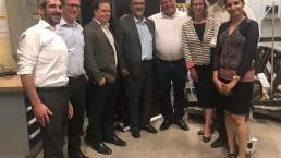 Ontario premier visits Waterloo campus