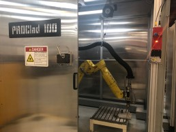 PROClad 100 robot at the Promation facility
