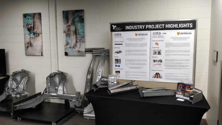 WatCAR Manufacturing demos and success stories