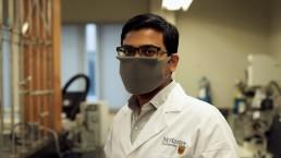 Engineering researcher Rakesh Sahu